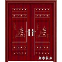 唐雅家居——钢木门系列