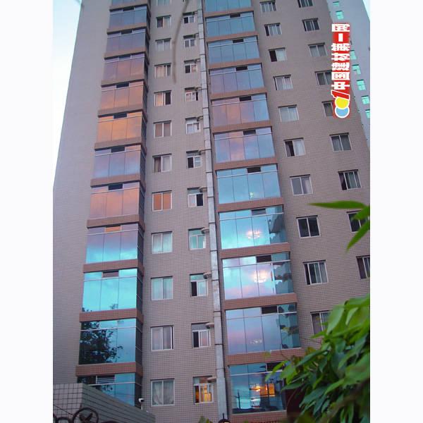 高层建筑-019 多功能万变玻璃百叶透气窗
