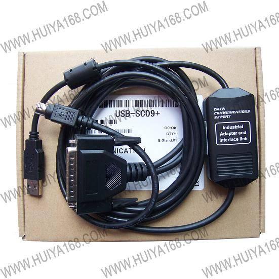 B接口隔离型的三菱 PLC 编程电缆