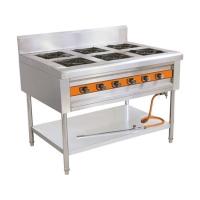 厨房设备:六眼煲仔炉