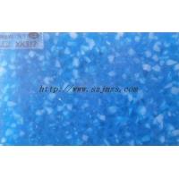 蓝色星空透光板透光石产品效果图片
