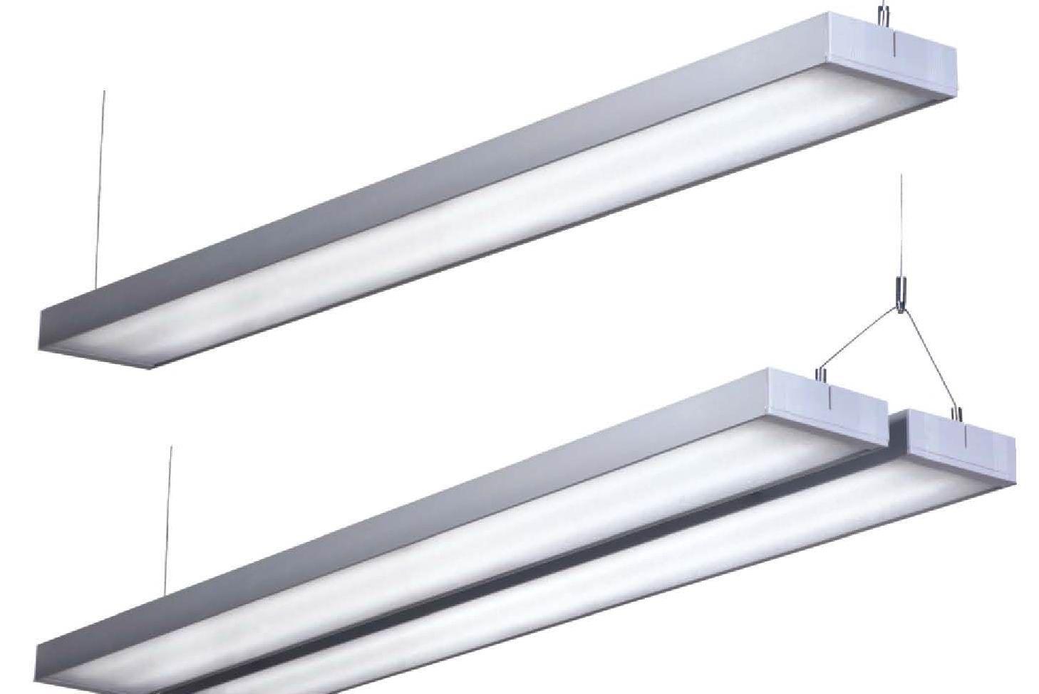 雄宇办公照明灯具,可吸顶与悬吊型灯具