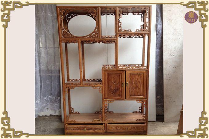 东阳木雕摆件实木雕挂件镂空花板香樟木圆形福字玄关花格客厅壁饰