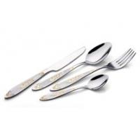 供应奥斯顿美观精美纯手工打磨不锈钢西餐具刀叉勺