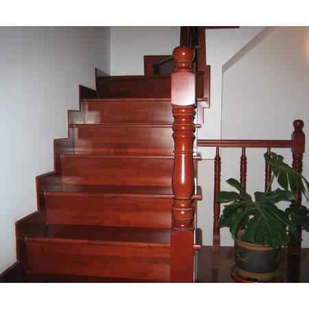 南京楼梯踏步板—美广明木业-实木楼梯