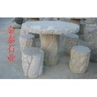 大理石、石桌石凳、园林坐凳座椅