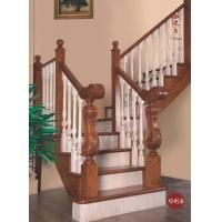 克拉玛依楼梯克拉玛依西边亮楼梯实木楼梯