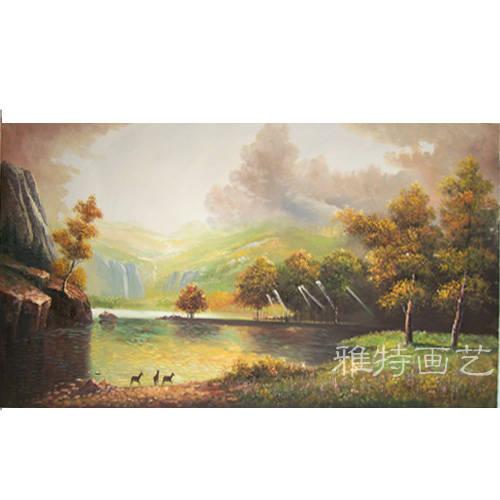 装饰画-手绘油画