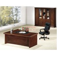 经济实惠1.8米西安办公家具实木班台办公桌经理桌雅凡家具