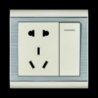 一位开关带二、三|陕西西安巨唐电气开关插座
