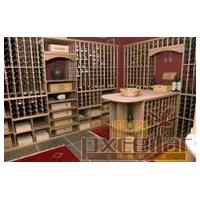 专业酒窖设计实木酒柜红酒酒架订制