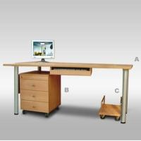 意风家具-客厅系列-电脑桌+主机架