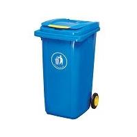 移动塑料分类挂车垃圾桶、垃圾箱、环卫果皮箱