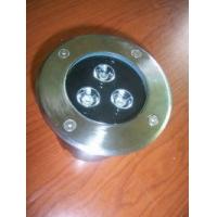 圆形3W单颗大功率LED地埋灯