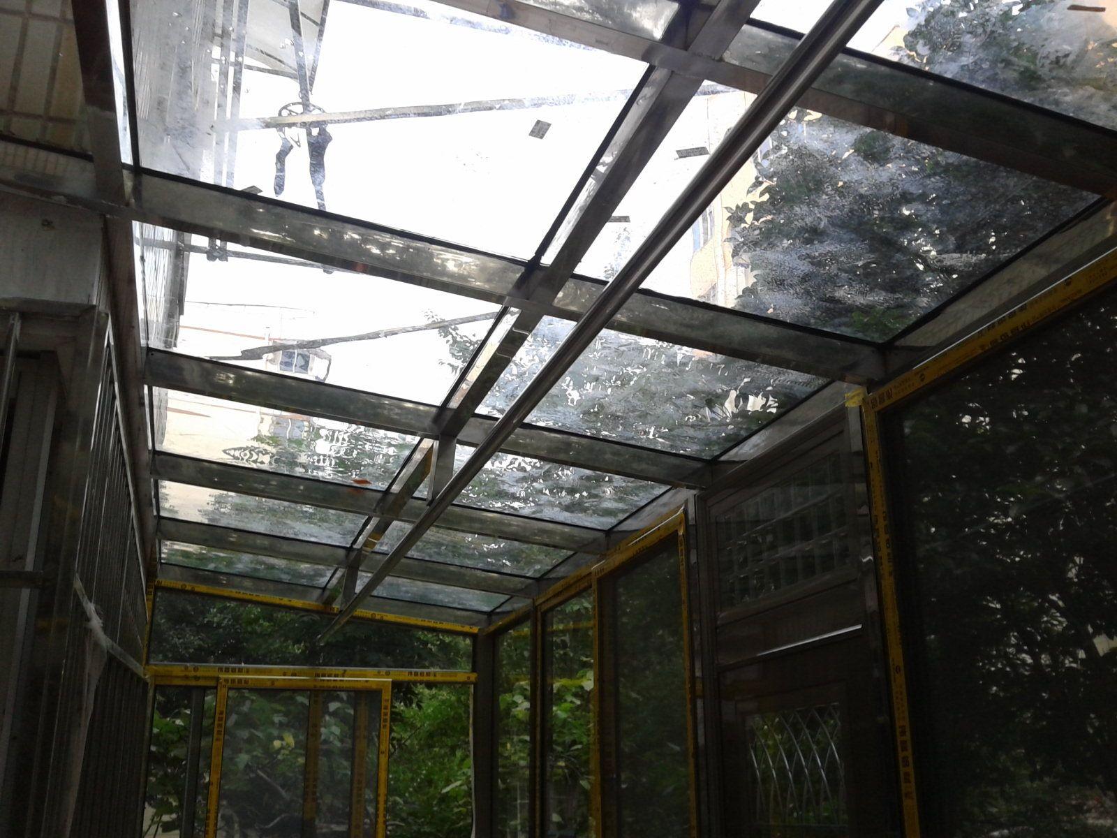 不锈钢焊接阳光房制作安装过程