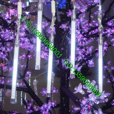 街道美化彩灯 星星装饰树灯串绕树灯 挂树灯景观灯 ...