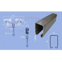 工业吊轮吊轨1500型移门滑轮滑轨 重型折叠门吊轮吊轨