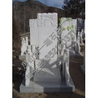 汉白玉石碑(汉白玉墓碑)青石墓碑汉白玉组合墓赑屃驮石碑