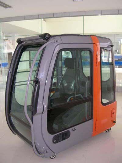 日立ZX350挖掘机驾驶室