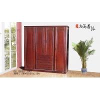尊派实木家具-四门衣柜