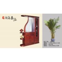 尊派实木家具-间厅柜