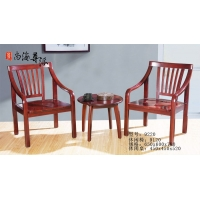 尊派实木家具-休闲椅