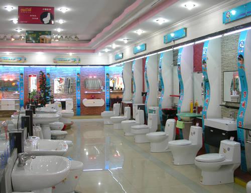 玻璃展示柜_新概念卫浴 展厅效果产品图片,新概念卫浴 展厅效果产品相册 ...