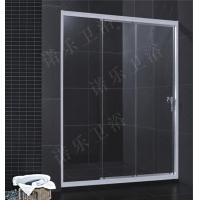 厂家供应卫浴洁具简易玻璃淋浴房/淋浴屏封/淋浴趟门