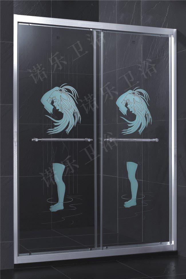 批发供应工程项目,淋浴屏 玻璃淋浴房 铝合金淋浴房 高清图片
