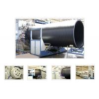 大口径中空壁缠绕管材生产线
