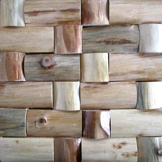 木头实木马赛克woodmosaic