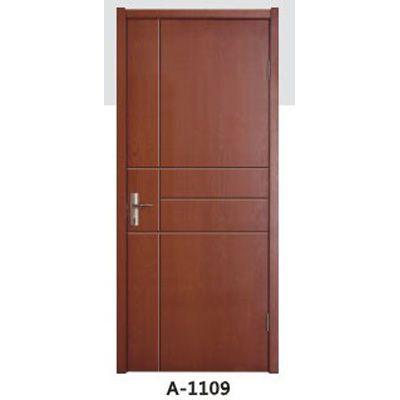 成都实木贴板门A-1108、A-1109