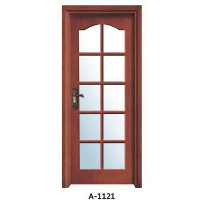 成都实木贴板门A-1120、A-1121