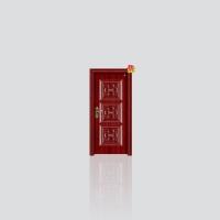 新深花型仿实木|永康鼎泰门业陕西西安直销处