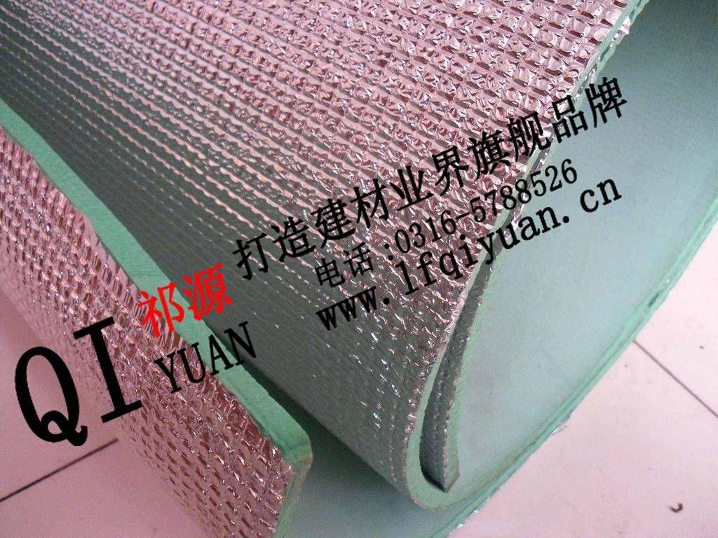 PEF复合铝箔贴面聚乙烯板