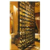 汕头、惠州市不锈钢酒架  办公室酒柜   私人不锈钢酒窖
