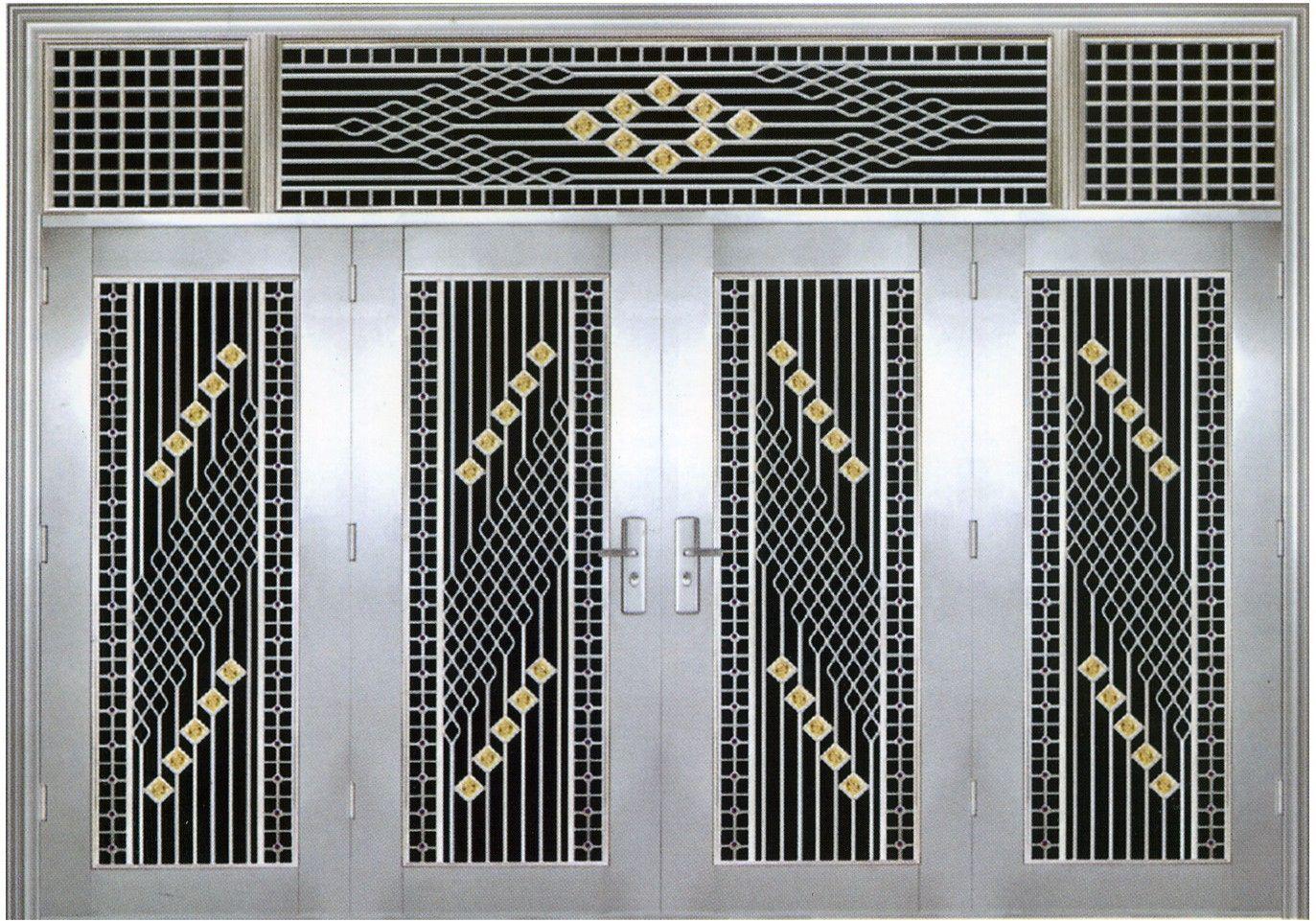 厂家特供不锈钢门,欧式套门,不锈钢玻璃门图片
