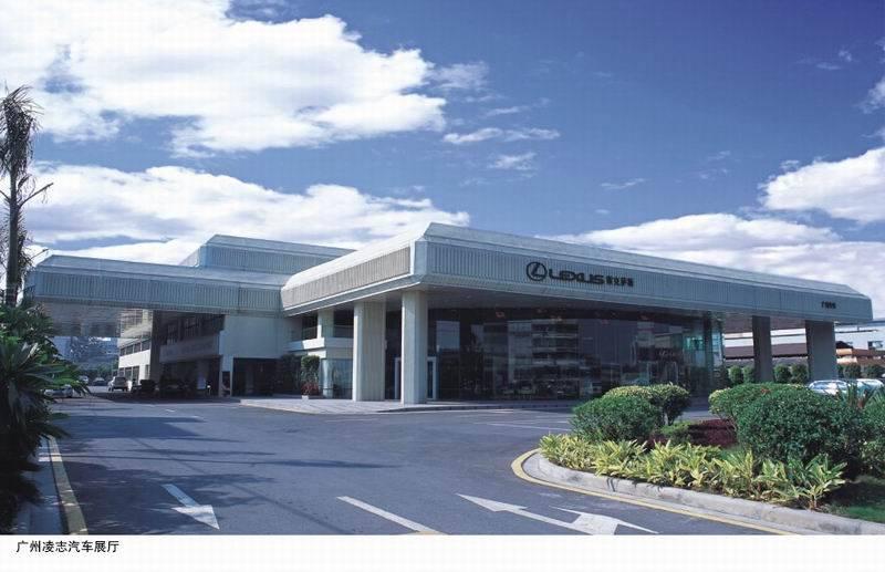 4s店,展示厅钢结构工程设计与施工