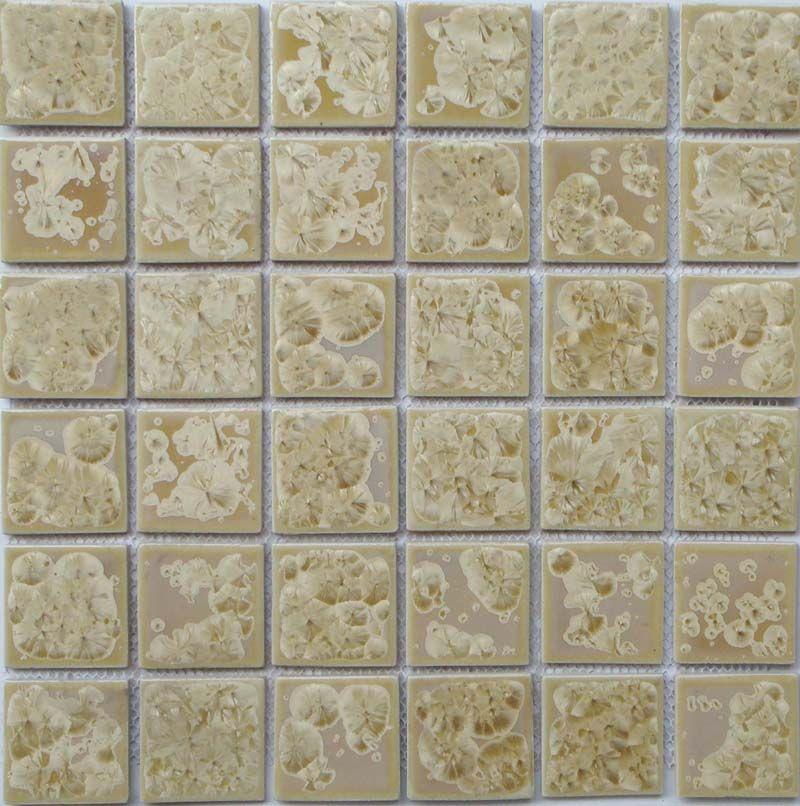 陶瓷结晶釉窑变马赛克 冰裂纹马赛克 高档室内外墙砖马赛克