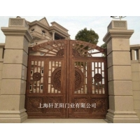 铸铝门-铸铝庭院门-铸铝围栏装饰件