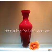 彩色玻璃花瓶