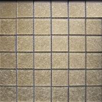 供应水晶玻璃马赛克,虎皮马赛克,抛晶砖(图)
