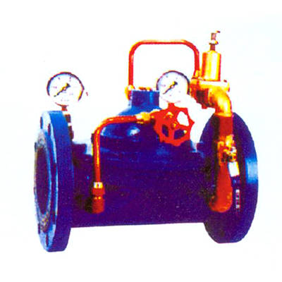 消防专用减压温压阀