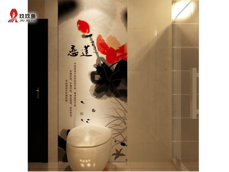 浴室瓷砖背景墙产品图片