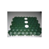 六角草坪格,植草格,塑料植草砖,停车场草坪格