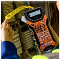 西安兄弟标签机PT-7600手拿式标签机代用普贴色带