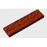 劈开砖生产厂家 外研社红砖 别墅用自然劈开面外墙面砖