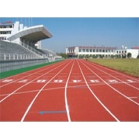驻马店PU球场地板,操场跑道,弹性运动地板