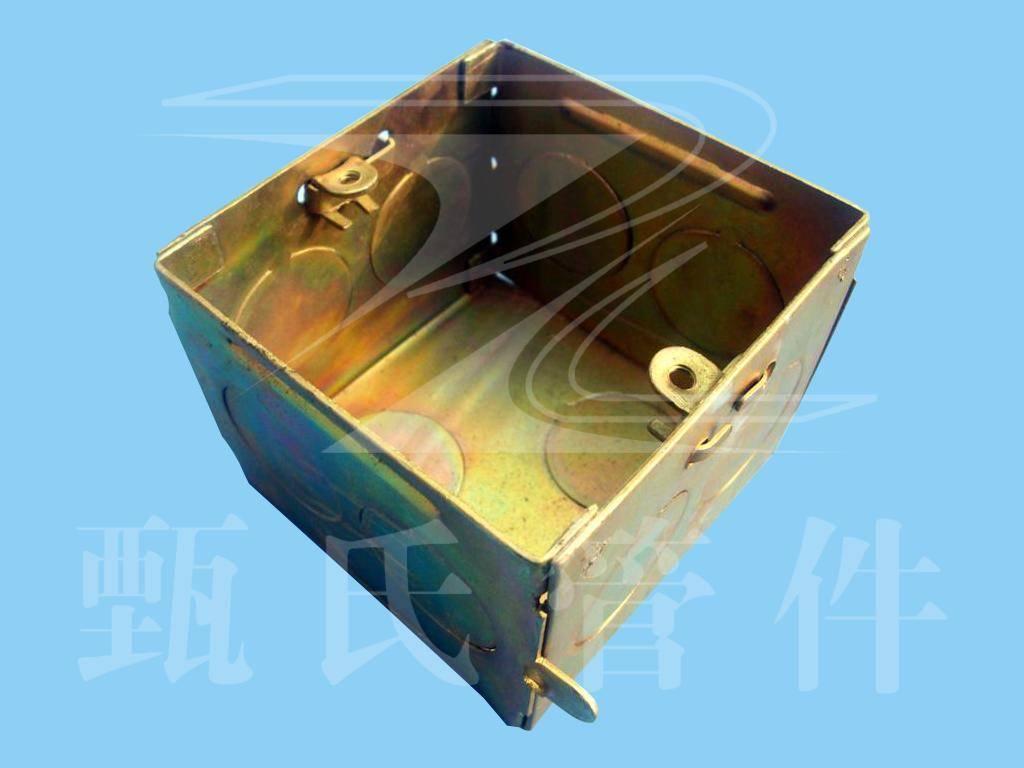 品名:86系列金属接线盒