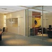 写字楼安装玻璃门隔断  北京玻璃门维修 1501071092